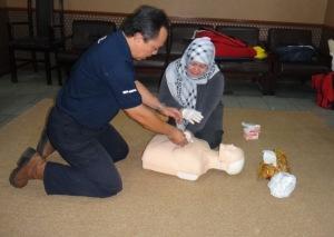 Praktek CPR atau RJP