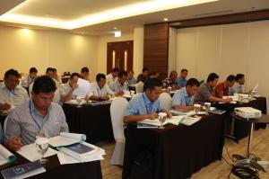 Peserta Pelatihan Ahli Muda K3 Konstruksi