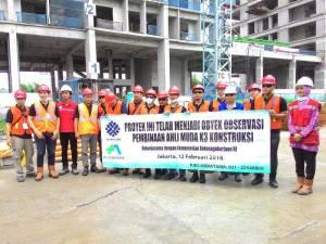 Ahli Muda K3 Konstruksi Feb 2016