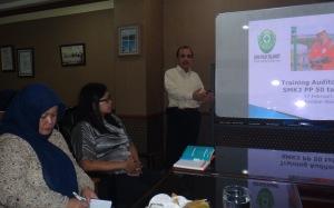 Instruktur Training Auditor Internal SMK3