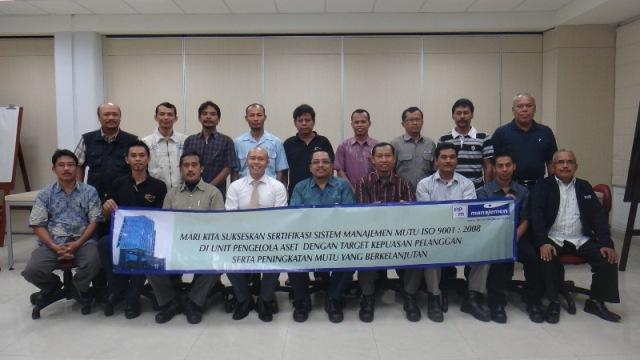 Peserta Pelatihan Awareness ISO 9001 PPM Manajemen