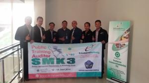 Training Sertifikasi Auditor SMK3