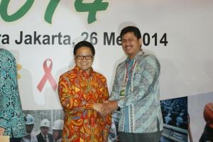 Penghargaan SMK3 PT. Hutama karya