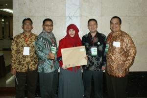 Penghargaan SMK3 Anugerah K3 2014