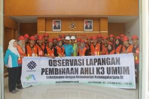 Observasi Lapangan Ahli K3 Umum Palembang