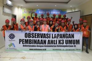 Pelatihan Ahli K3 Umum Palembang 2