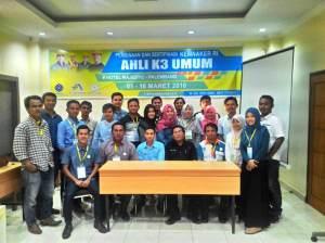 Pelatihan Ahli K3 Umum Palembang 3