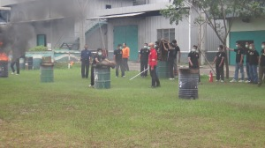 Proses Pemadaman api mula