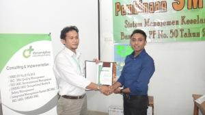 20. Juara Pelatihan SMK3