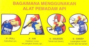 cara mengggunakan APAR