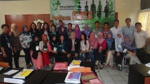1. Foto Bersama Pelatihan SMK3 Lampung