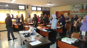 16. Pelatihan K3 Mahasiswa Lampung
