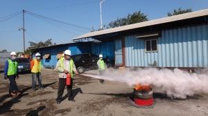 26. Praktek APAR Pemadaman Api