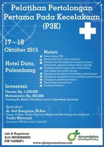 Brosur P3K Palembang Arif