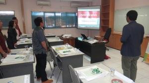 1. Pelatihan CSMS Mahasiswa