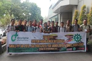 102. Training OHSAS 18001 Medan