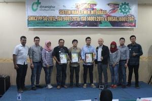 104. Sistem Manajemen K3 SMK3 PP 50 2012 Medan