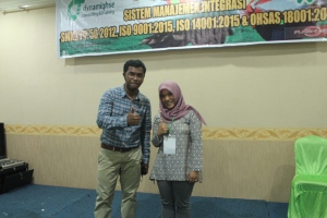 56. Sistem Manajemen K3 OHSAS 18001 Medan