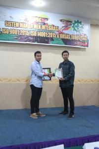 99. Sistem Manajemen K3 SMK3 PP 50 2012 Medan