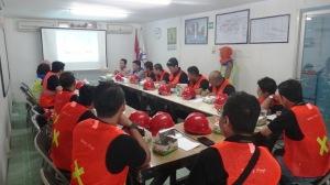 Briefing sebelum Observasi lapangan