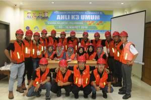 Foto bersama, Ahli K3 Umum Palembang