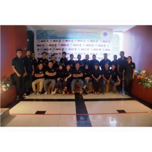 Foto bersama para peserta pelatihan k3 umum medan