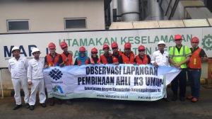Foto bersama tim HSE PT. Molten Alumunium Producer Indonesia