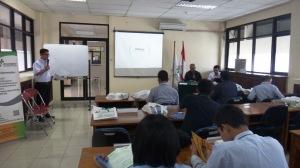 Pembukaan oleh perwakilan dari Kementrian ketenaga Kerjaan RI, Bp. daafi armanda