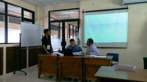 Presentasi hasil observasi peserta